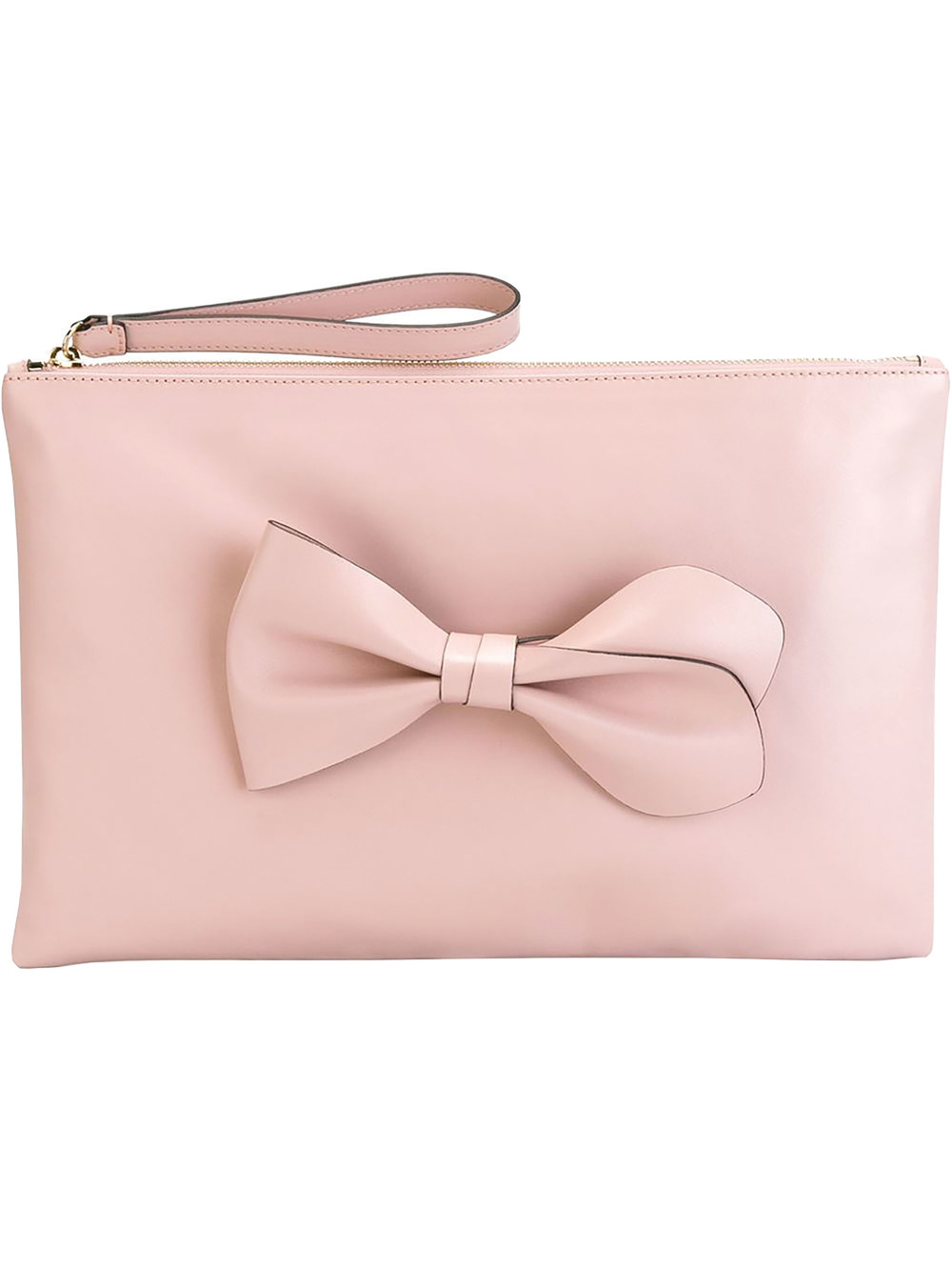 Red Valentino Bow Appliqué Clutch $516