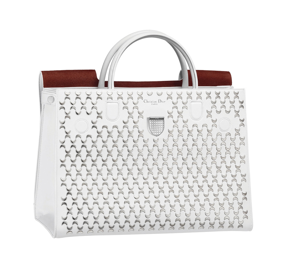 Dior DiorEver Studded Calfskin Bag $4,400