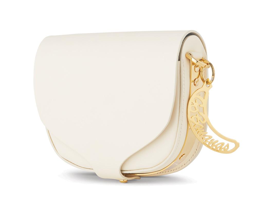 Sophie Hulme Barnsbury Mini Saddle Bag US$495