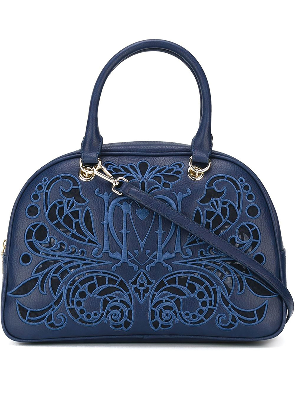 Moschino Embroidered Bowling Tote $400.75