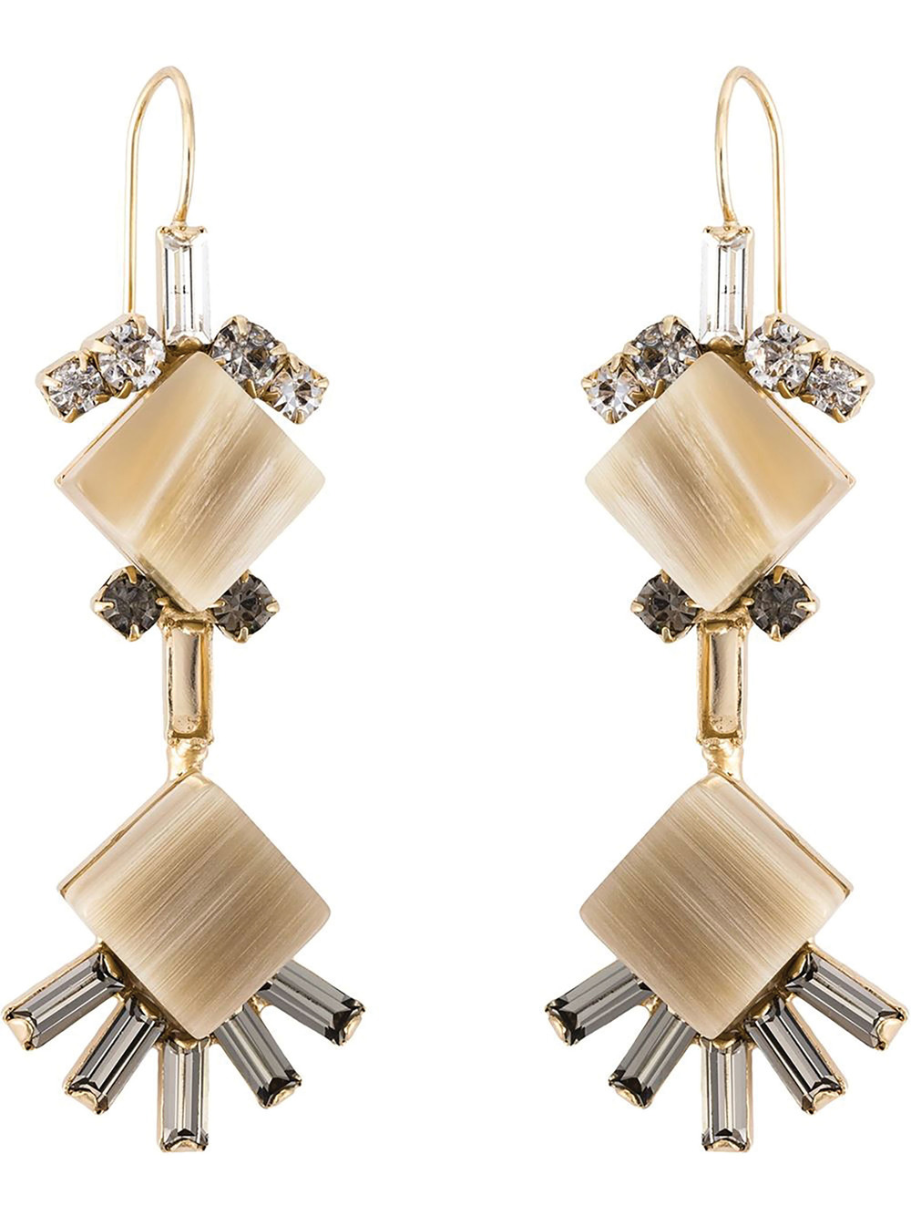 Marni Diamond Shaped Earrings $569