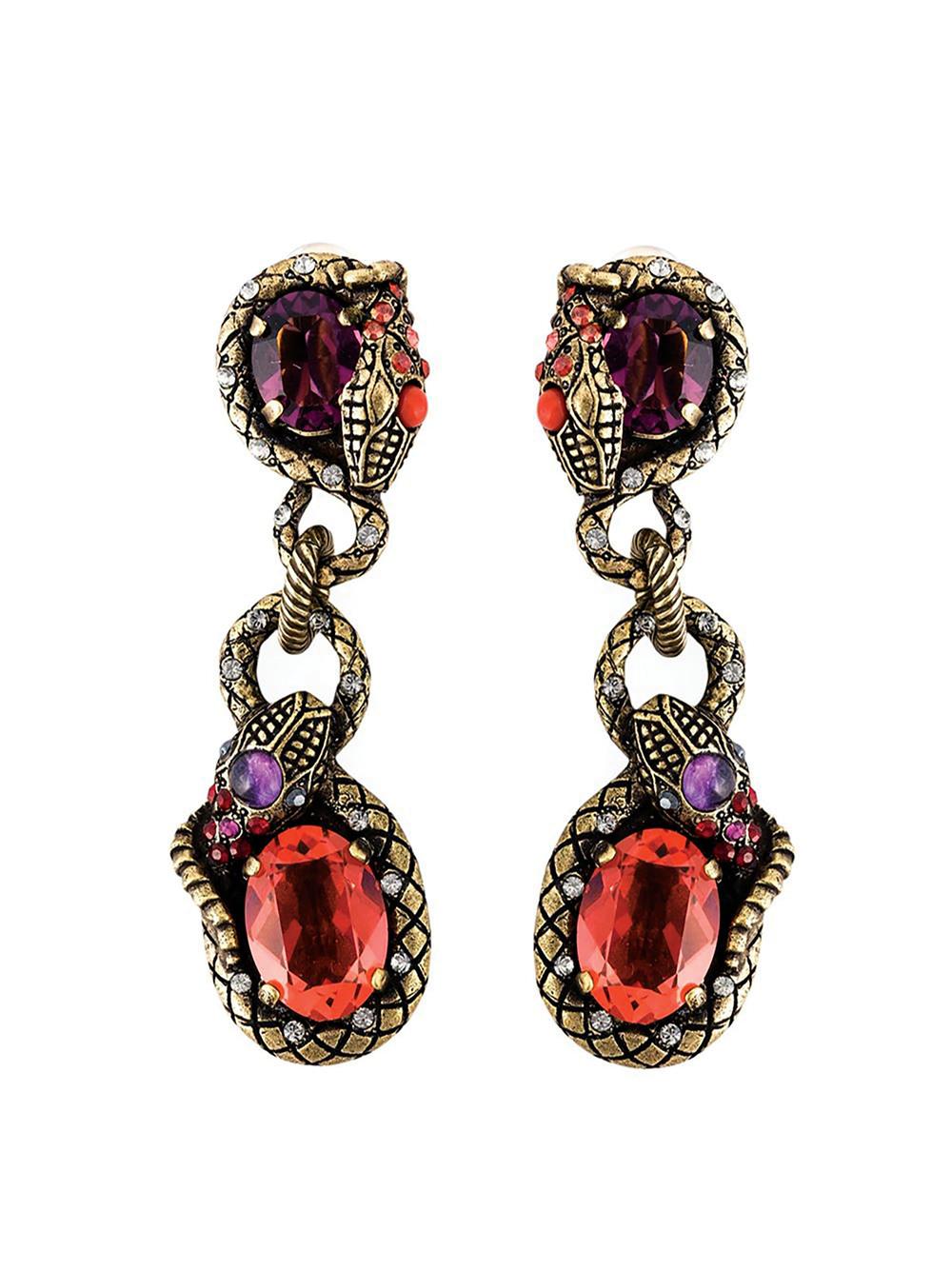 Lanvin Drop Clip On Earrings $759