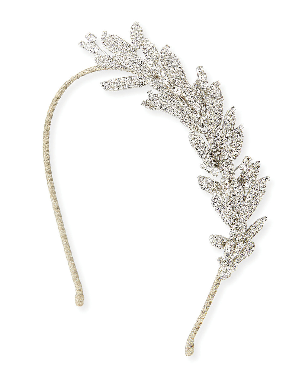 Jennifer Behr Arielle Crystal Leaf Headband $1,891