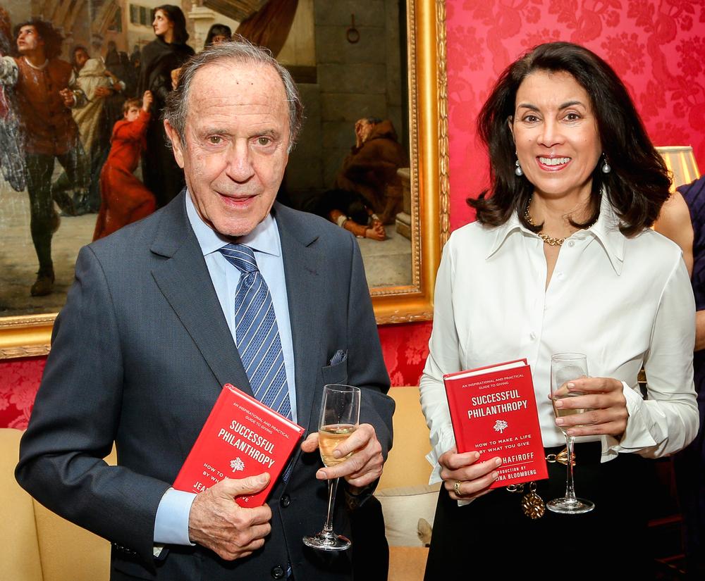 Mortimer Zuckerman, Clara Del Villar (Image: J Grassi/Patrick McMullan)