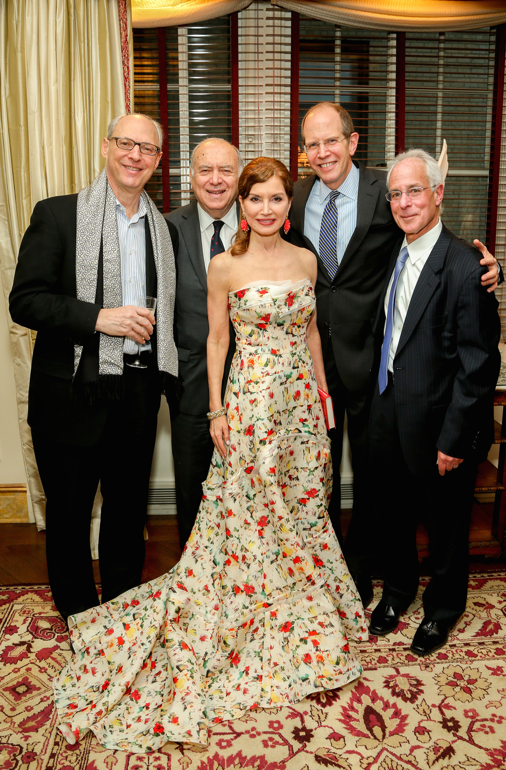 Carl Kempner, Martin Shafiroff, Jean Shafiroff, Bob Chaloner,  Steve Bernstein (Image: J Grassi/Patrick McMullan)