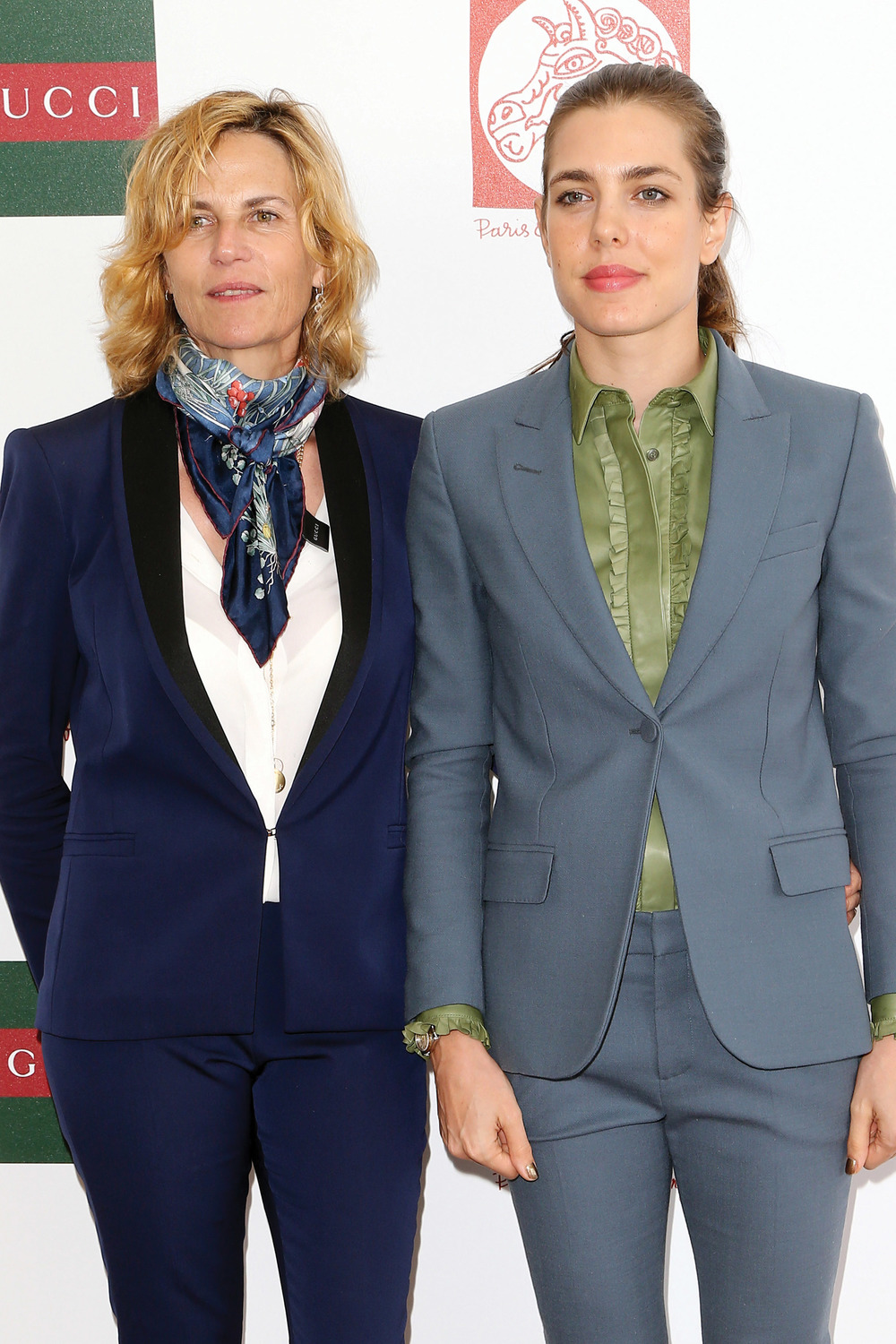 Couperie-Eiffel with Charlotte Casiraghi, the glamorous Monegasque princess (fifth-in-line to the throne of Monaco) was among competitors at last year's Paris Eiffel Jumping event.
