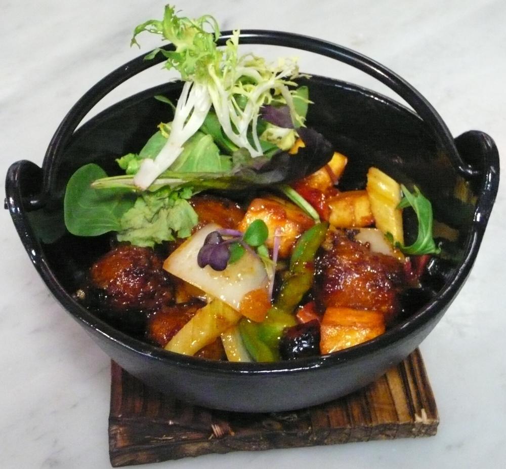 Szechwan Chutney Vegetable