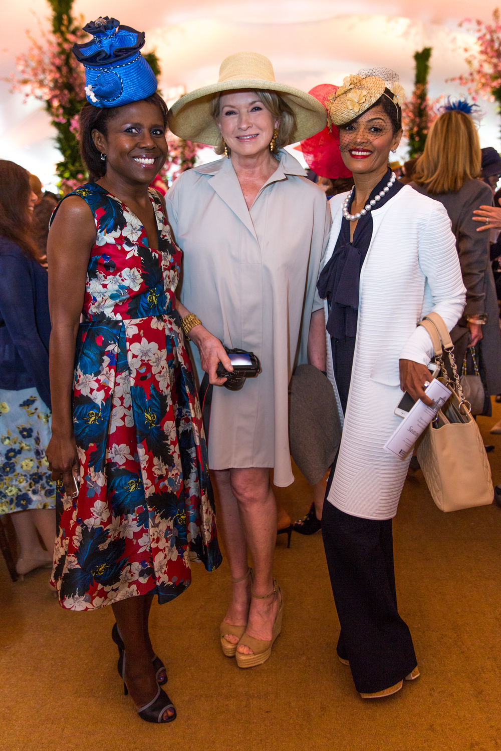 Deborah Roberts, Martha Stewart and Prudence Inzerillo.  Photo credit: Max Lakner/BFA.com