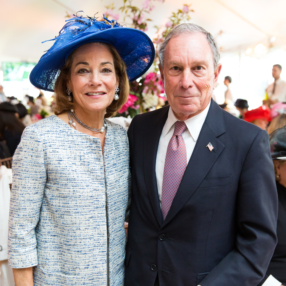 Anne Harrison and Michael Bloomberg .  Photo credit: Max Lakner/BFA.com