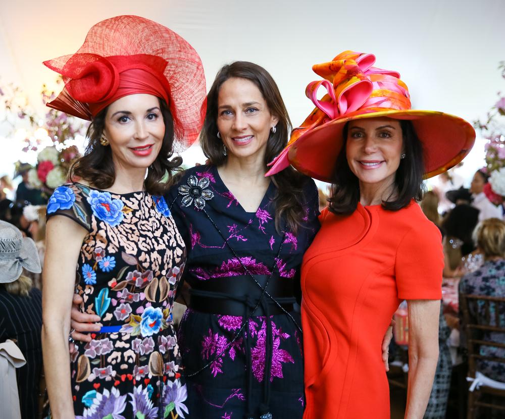 Fe Fendi, Marcia Mishaan, Lois Robbins  Photo credit: Max Lakner/BFA.com