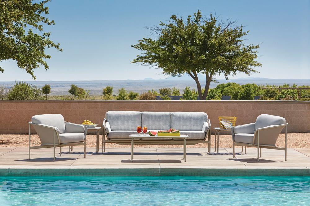 Brown Jordan Verge Collection, 3-Seat Sofa $4,995