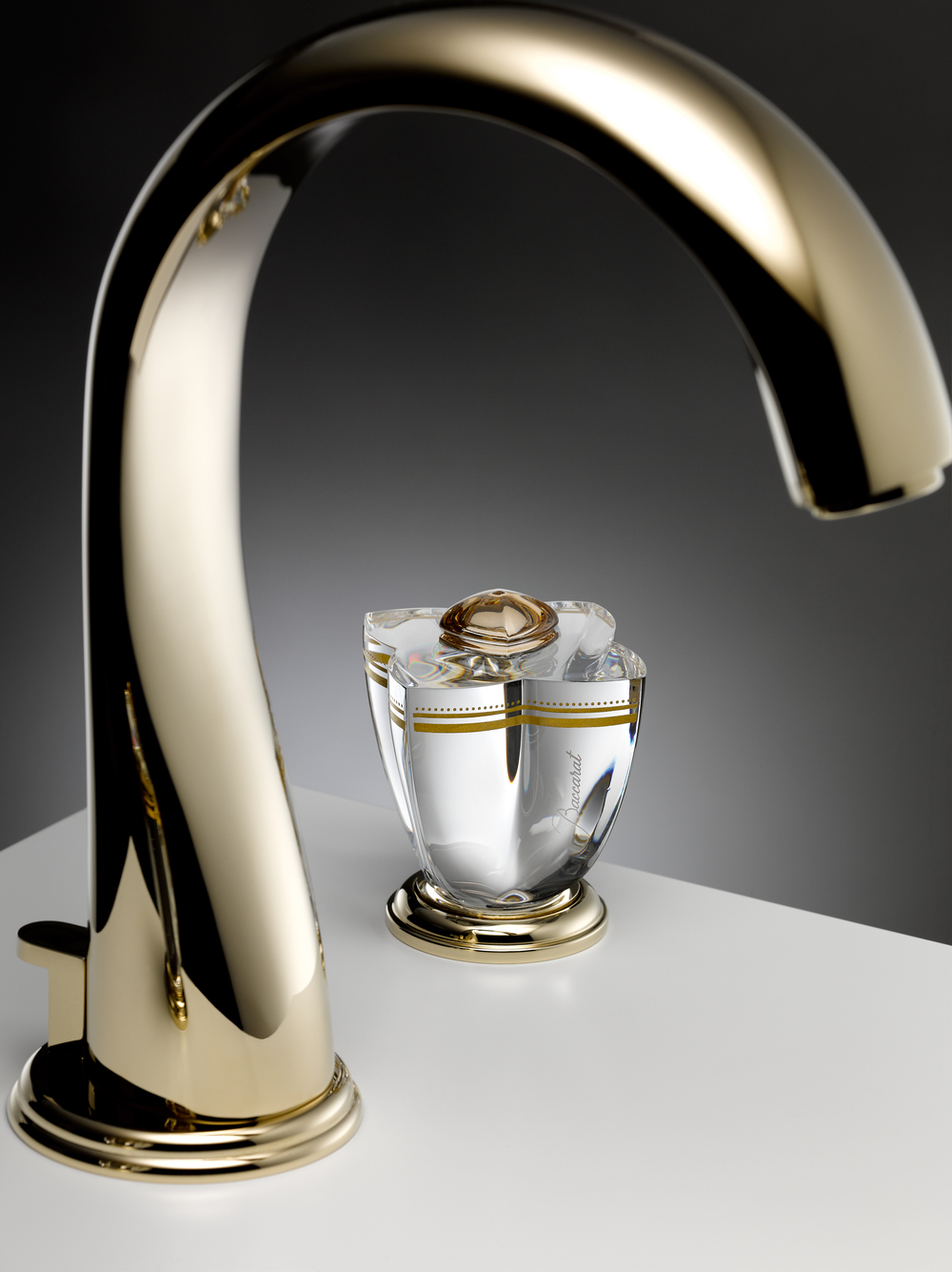THG Paris Baccarat Numero 60 washbasin faucet, price available on request,  thgusa.com