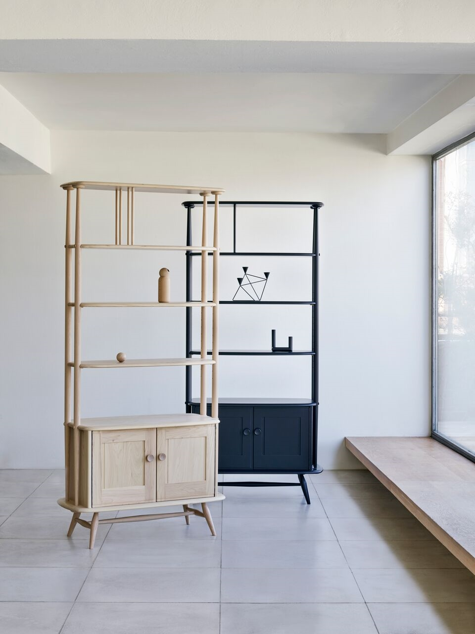 Ercol 363 Room Dividers start from $4020 for the natural version and $4120 for the colored finish, available through any of Ercol's North American stockists, www.ercol.com/international/find-a-stockist