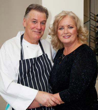 Derry and his wife Sallyanne opened L'Ecrivain over 27 years ago.
