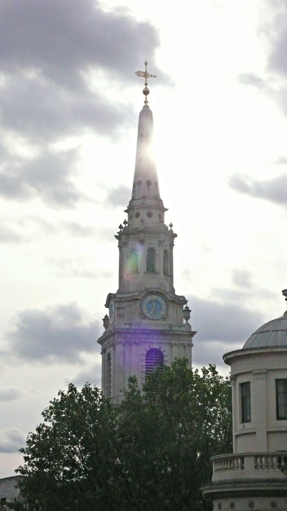 View of St. Martin-in-the-Fields Church from The Terrace. (Ben Maloney)