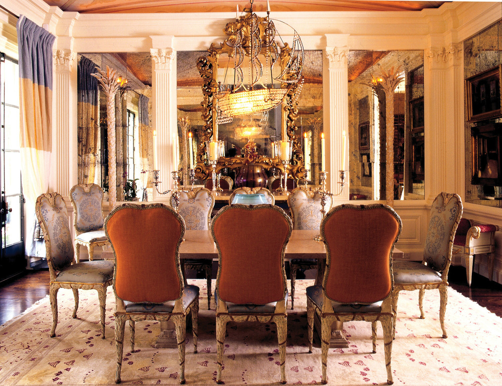 This dining room turns a formal meal into warm memories of whimsy, lightness, and laughter.