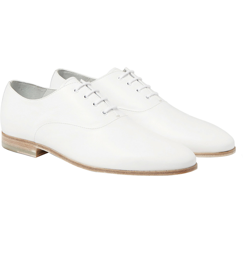 Alexander McQueen Leather Oxford Shoes $747
