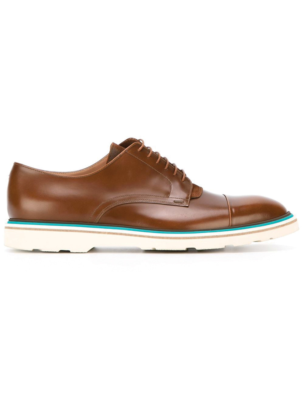 Paul Smith Contrast Sole Derby Shoes $639