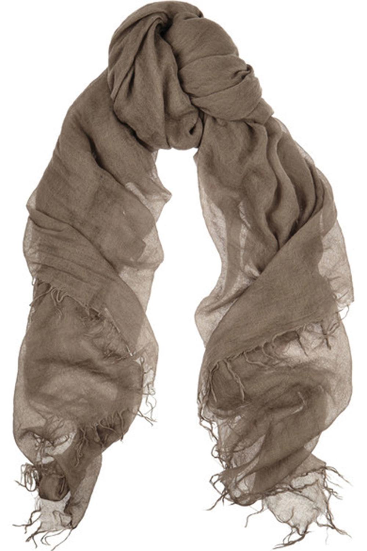 A cashmere shawl