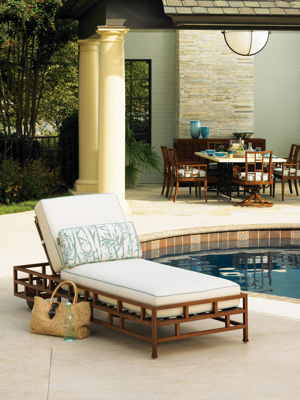 Tommy Bahama Ocean Club Resort Chaise, $3,495 At Paramount Furniture, (604) 273-0155  paramountfurniture.ca