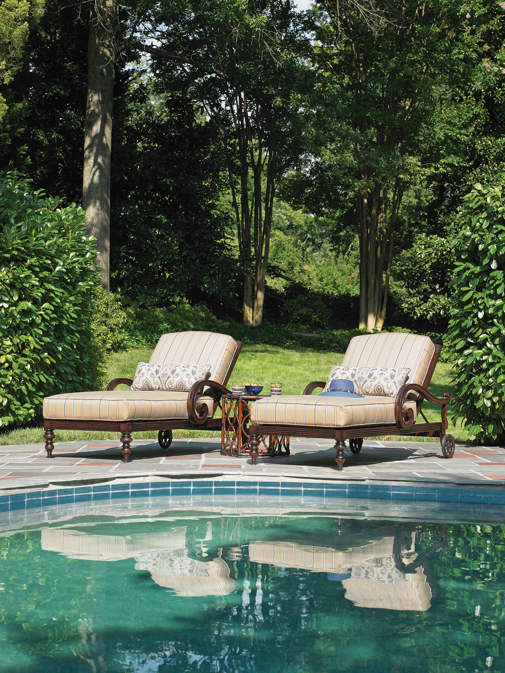 Tommy Bahama Black Sands Chaise, $4,195 At Paramount Furniture, (604) 273-0155  paramountfurniture.ca