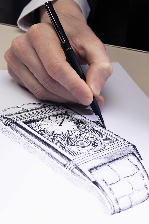 Designer working on Reverso Tribute Gyortourbillon ©Johann Sauty-Jaeger-LeCoultre (2).jpg