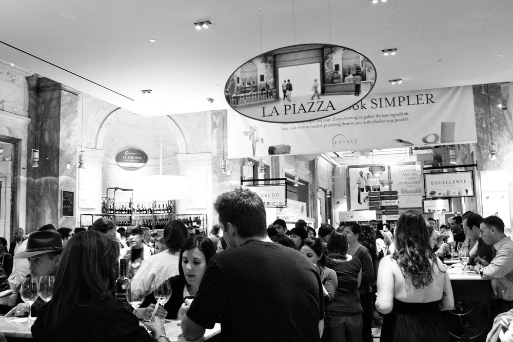 Eataly has become one of New York City's top five tourist attractions, taking you on a journey into authentic Italian gastronomy.