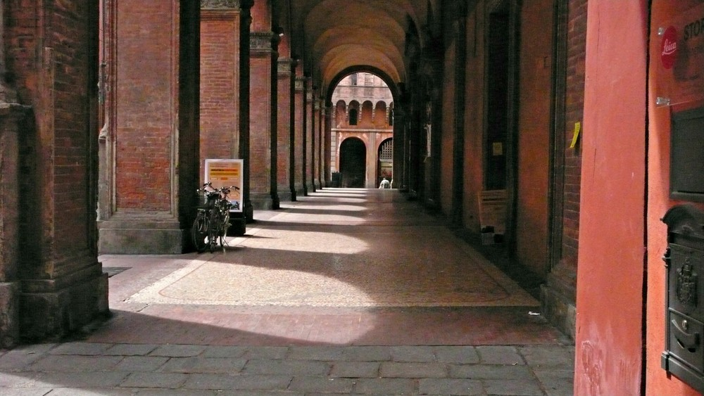 Bologna has miles of archways whose distinct style architecturally define the city. (Ben Maloney)