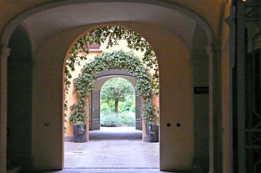 Some archways lead to hidden gardens. (Ben Maloney)
