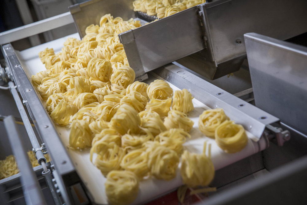 "Tagliatelle is one of the most iconic Italian pasta cuts and is stored in ""nests"" seen here. (Image courtesy of Felicetti Pasta)"