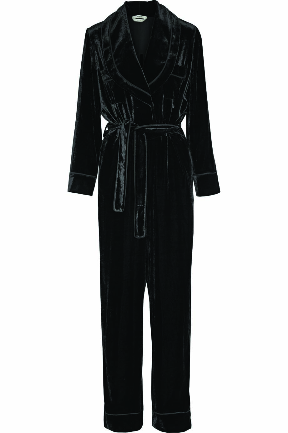 FENDI Velvet Jumpsuit US$2,490