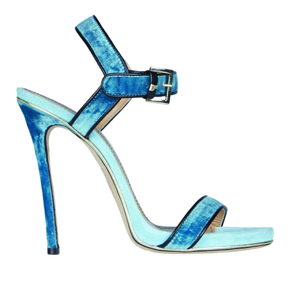 DSQUARED2 Velvet Sandals $785
