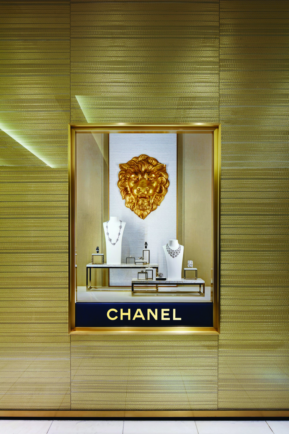 Watches and Fine Jewellery space. Photos courtesy of CHANEL
