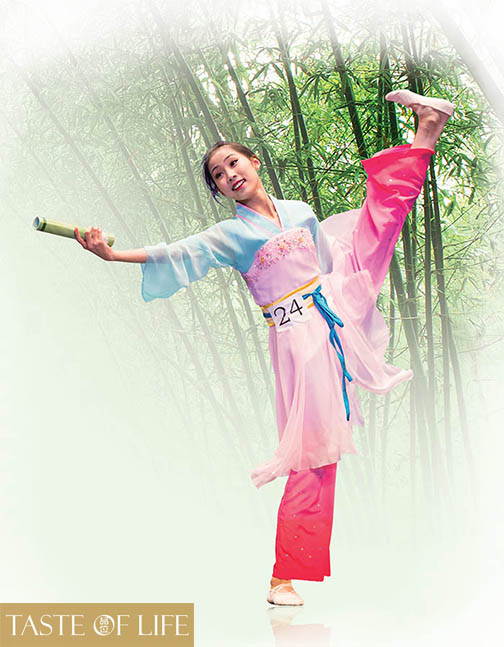 Rao Deru performs her silver award-winning dance in the 2014 NTD International Classical Chinese Dance Competition.