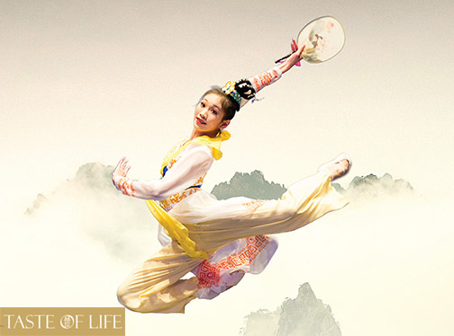 Lian Xu in her international gold-medal winning dance inspired by a 3,000-year-old poem.