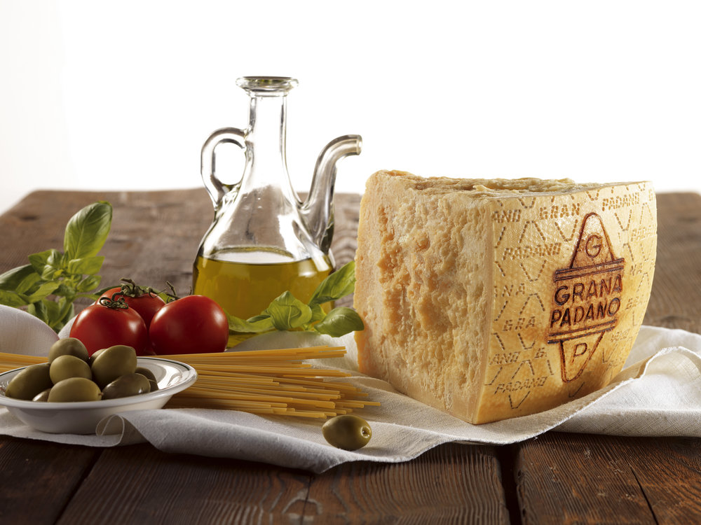 Grana Padano is unknown to many in North America, but remains one of Italy's favorite cheeses. (Image courtesy of Grana Padano Consortium)