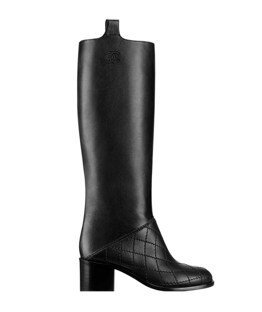 CHANEL High Calfskin Boots $1,775