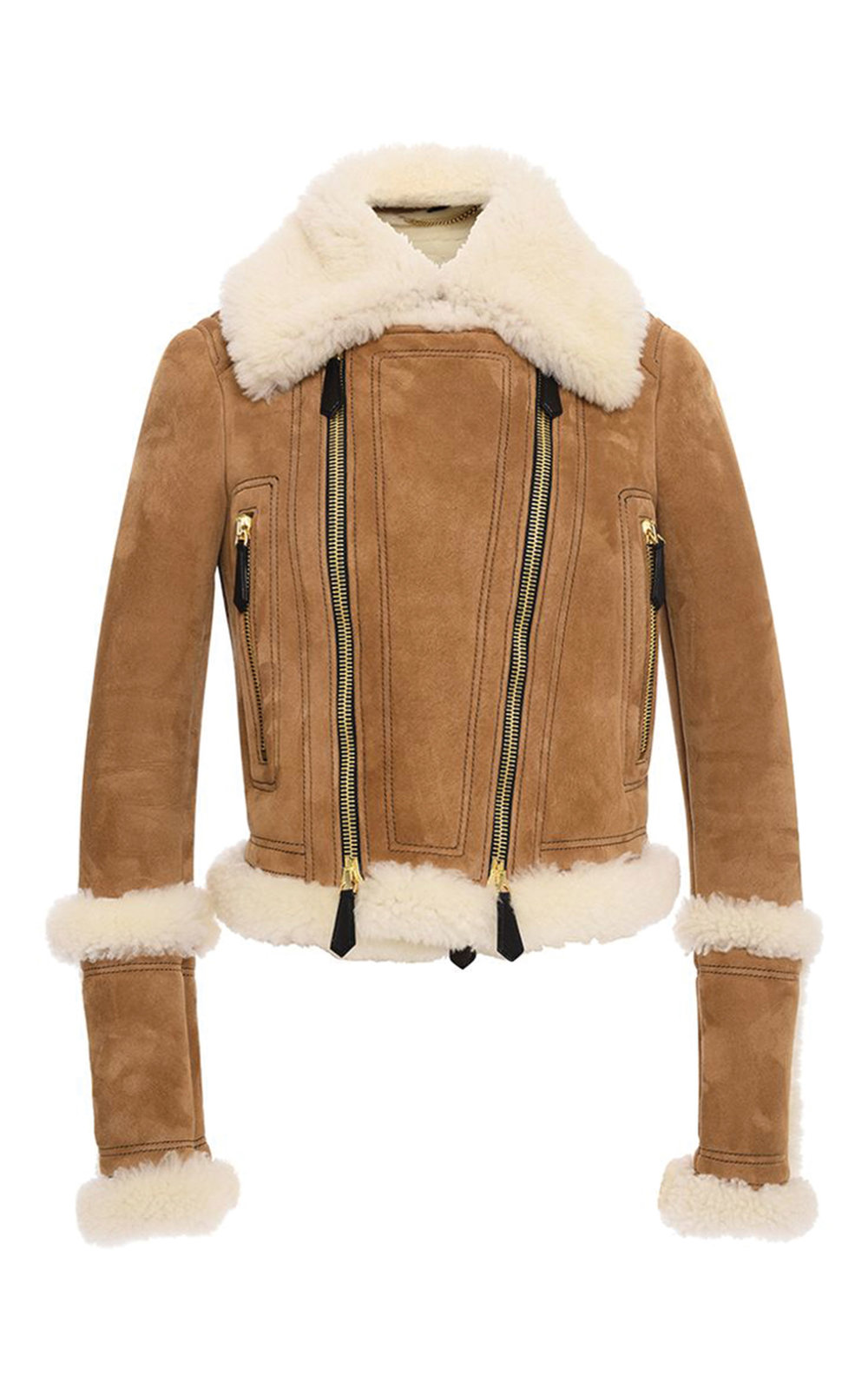 Burberry Shearling Biker Jacket $6,250