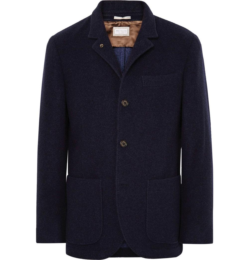 Brunello Cucinelli cashmere blazer