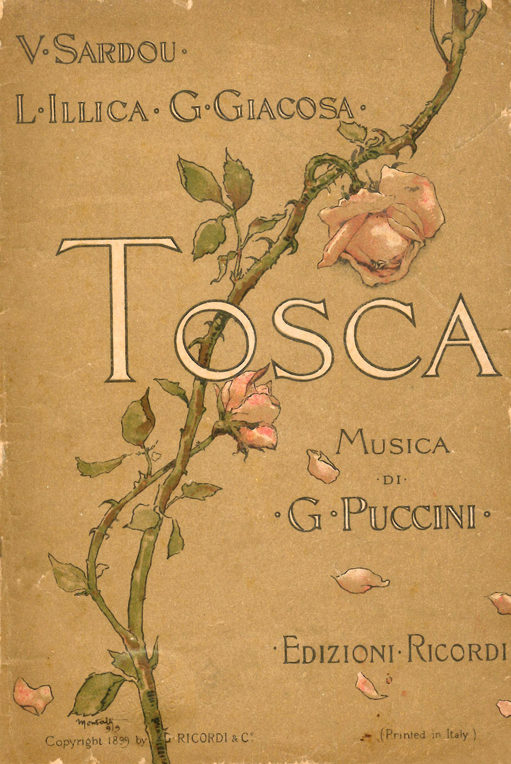 A Pair of Tickets to Tosca by Canadian Opera Company $700,  coc.ca
