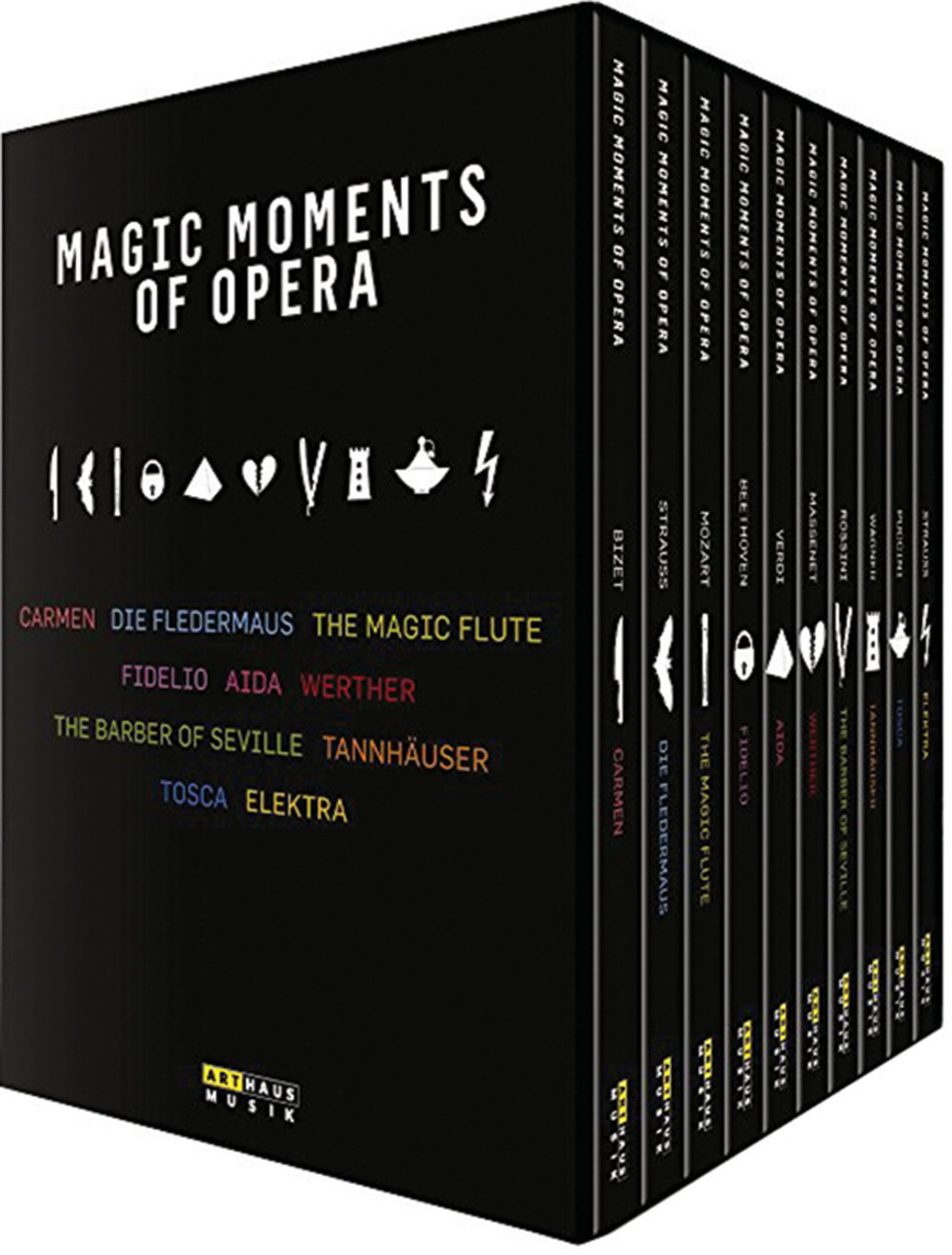 Magic Moments of the Opera by Arthaus Musik, $144,  amazon.ca