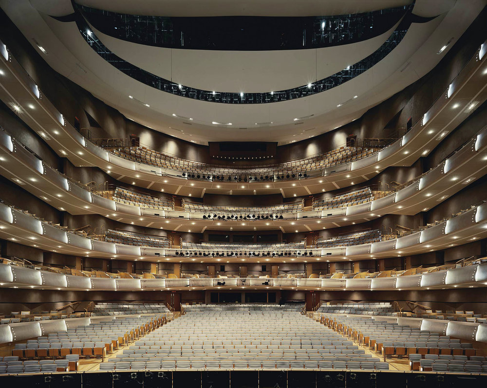 R. Fraser Elliott Hall, the main auditorium of the Four Seasons Centre for the Performing Arts