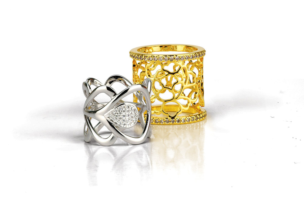 Scarf Rings by Shen Yun Performing Arts‭ ‬US$35,  shop.shenyun.com