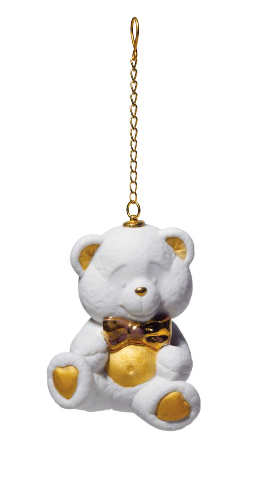 Lladró‭ ‬Teddy Bear Christmas Ornament