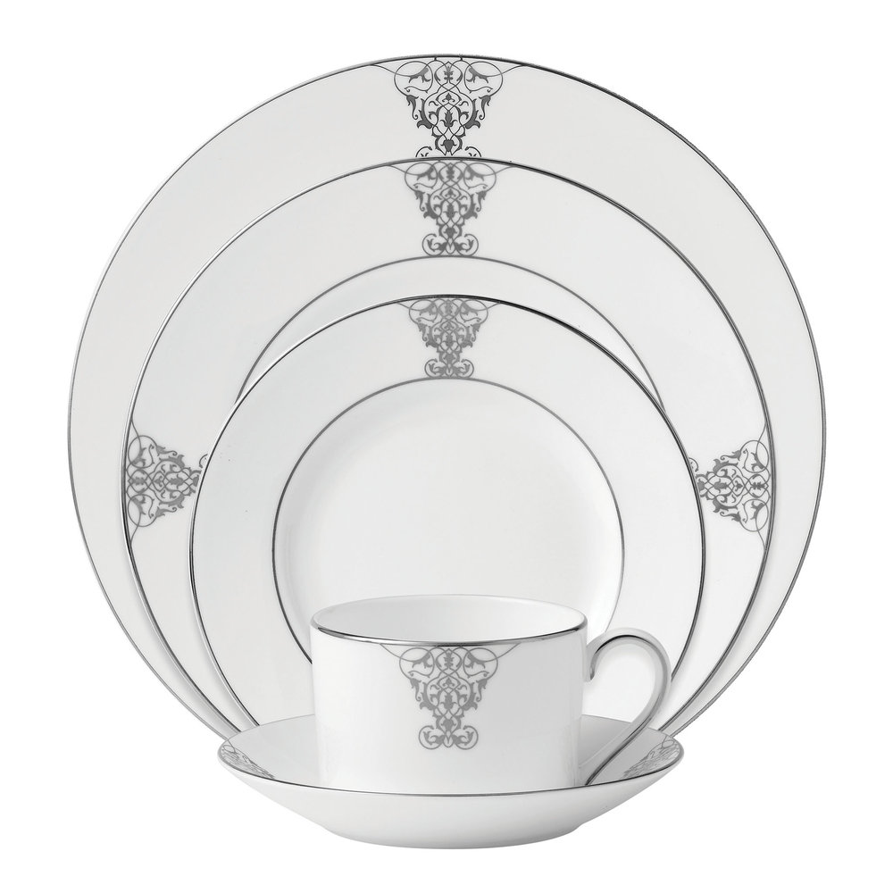 Vera Wang Wedgwood Imperial Scroll 5-Piece Setting