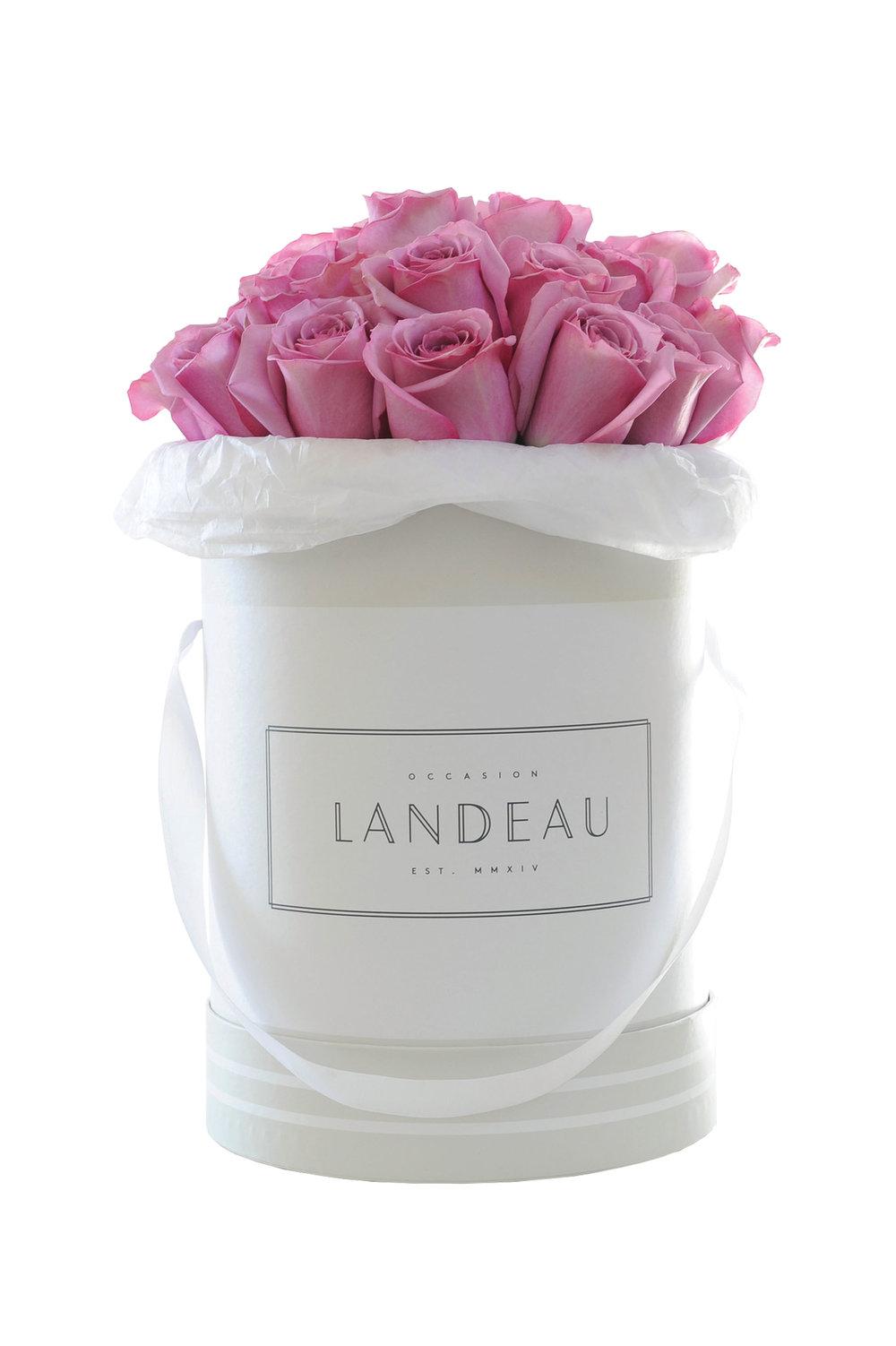 2.A Bouquet of 25 Fresh Ecuadorian Roses by Occasion Landeau $149, givelandeau.com