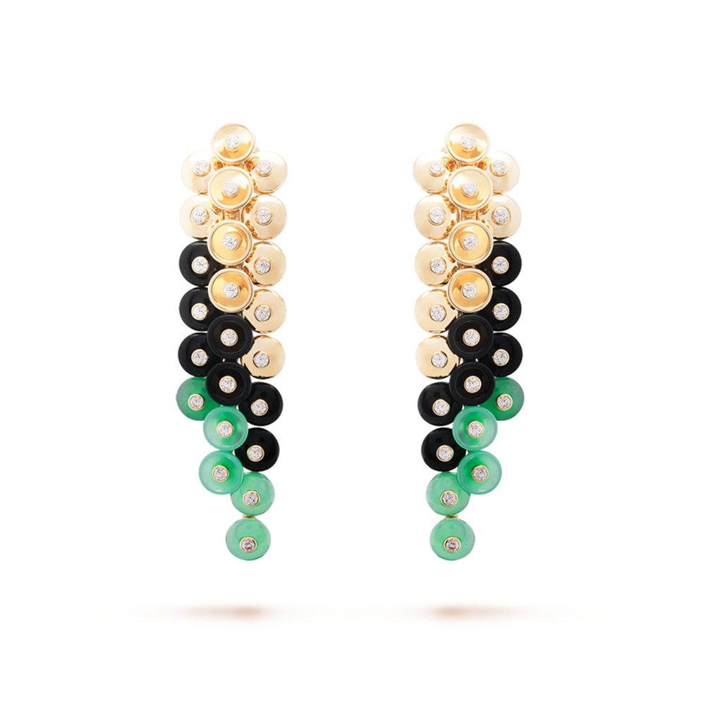 1.Bouton d'Or Earrings by Van Cleef & Arpels $38,100, vancleefarpels.com