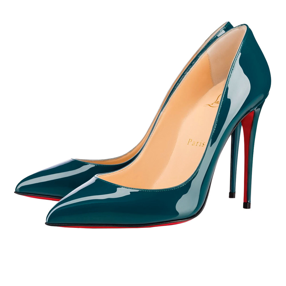 9.Pigalle Follies Patent Pumps by Christian Louboutin $795,  christianlouboutin.com