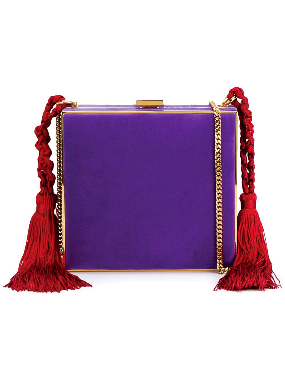 3.Tasselled Square Clutch by Alessandra Rich $1,802,  farfetch.ca