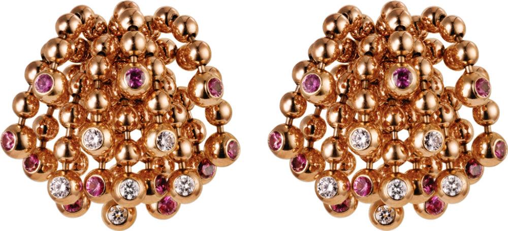 5.Paris Nouvelle Vague Earrings by Cartier Price upon request,  cartier.com